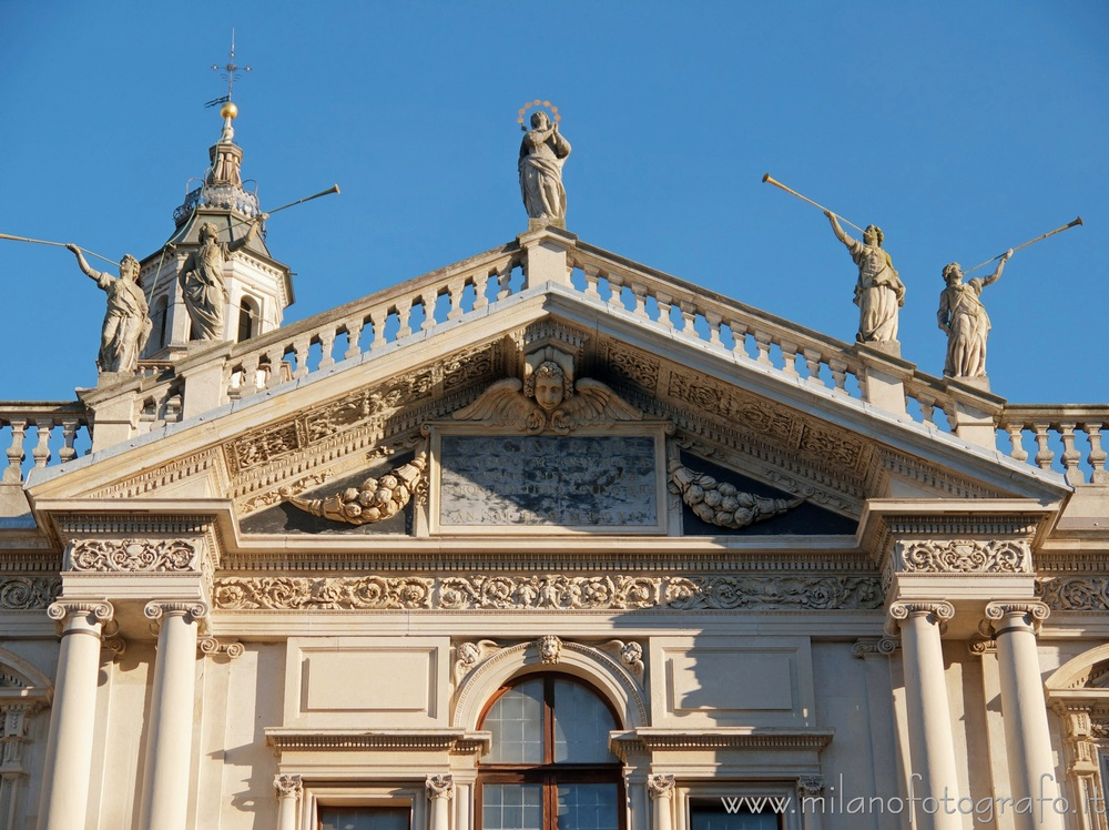 Saronno (Varese, Italy): Sanctuary of the Blessed Virgin of the Miracles